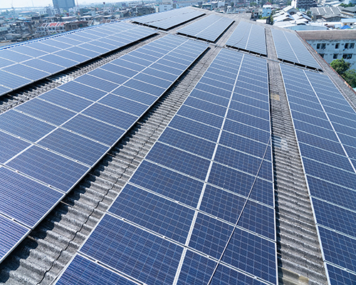 Showa India Private Limited rooftop solar plant 1