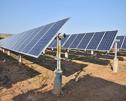 HAL: India's first tracker-based solar plant at an airport.