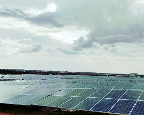 Narayana Hrudyalaya solar power supply by Amplus