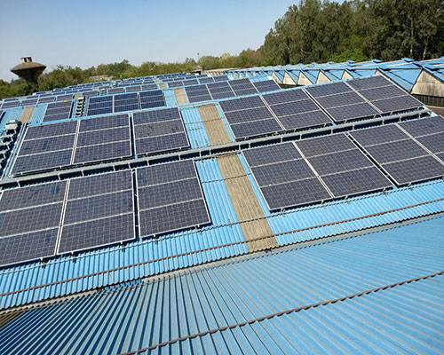 Indian Railways rooftop solar plant