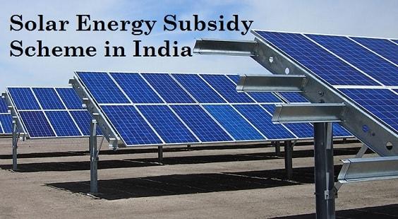 Solar Schemes in India