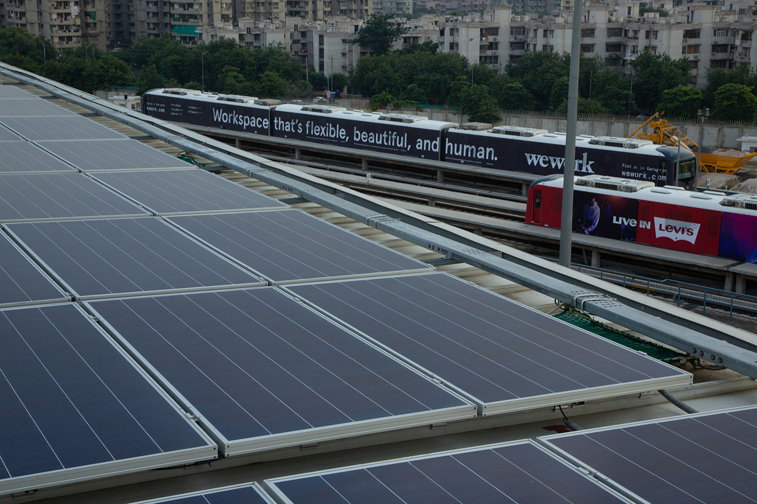 Rapid Metro: Gurugram's public transport systems' one-of-a kind green initiative