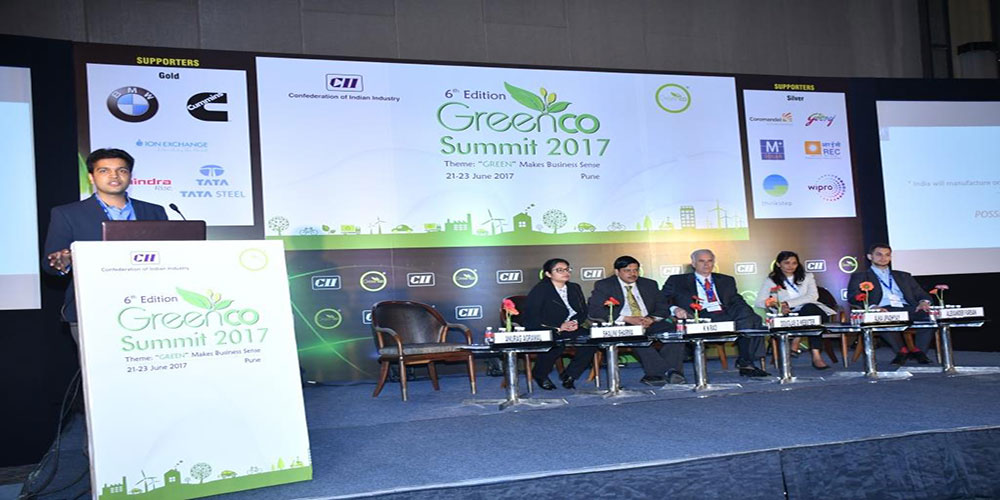 Amplus at CII Greenco Summit 2017