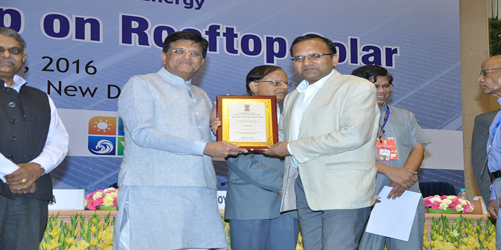National Excellence Award by Government of India